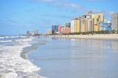 Pohled na slavné Grand Strand v Myrtle Beach South Carolina