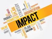 IMPACT word cloud business concept