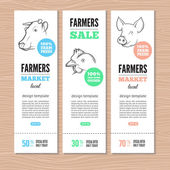 Farm függőleges bannerek