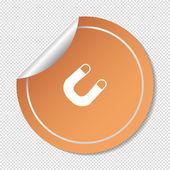 Mágnes pókháló ikon
