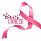 Breast Cancer Awareness Ribbon Background Vector illustration EPS 10