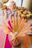 Wedding candy bar decorations