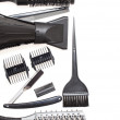 Постер, плакат: Hairdresser Accessories Stock Image