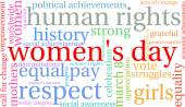 Womens Day Word Cloud