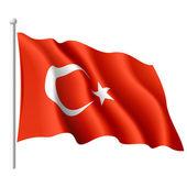 Flag of Turkey Vector