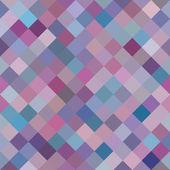 Geometric Background with Random Colored Purple Diamonds. Seamless pattern