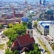 Постер, плакат: Aerial view of Berlin Germany