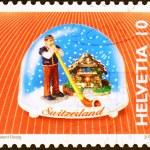 Постер, плакат: Souvenir toy on postage stamp