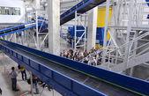 Abfall-recycling-Anlage. Große Anlage zur Verarbeitung von Hausmüll in Sofia, Bulgarien am 16. September 2015