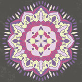 Ornamental round mandala