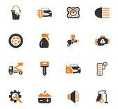Auto-Shop-Symbole-Satz