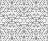 Complicated vector seamless black and white background texture Ornament of fine lines  Endless texture can be used for wallpaper pattern fills web page backgroundsurface textures