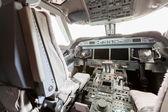 Innenansicht des Cockpit-G550