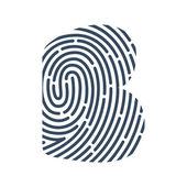 Detective Audit or Biometric access control system vector design template elements for your application or company