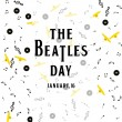 Постер, плакат: The Beatles day poster