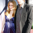 Постер, плакат: Gillian Anderson and David Duchovny