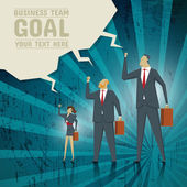 Business Concept Team strives to achieve business goals