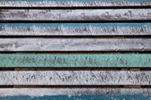 Barevné dřevěné rošty