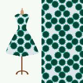 Textilie vzor design pro ženské šaty. Ideální pro tisk na papír nebo látku