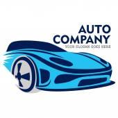 Automobilový auto Logo Telmplate