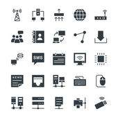 The icon set is useful for Networking It consist kind of all symbol that use networking and programing Use them for your web networking projects and enjoy it