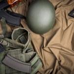 Постер, плакат: Kit of moder Russia military equipment