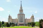 Lomonossow-Universität. M. V. Lomonosov