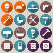 Haus Renovierung-Symbole