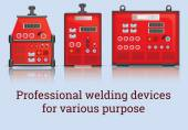Three professional welders for different purposes
