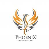 Luxus phoenix embléma koncepció