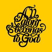 Biblia tipográfiai. Minden dicsőséget Istennek tartozik