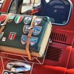Постер, плакат: Camogli Liguria Italy September 20 2015: Festival Fiat 500