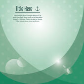 Green wallpaper icon. Cover background. Vector graphic