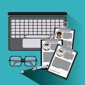 Ikona dokumentu podnikatel laptop brýle pera Projděte si také anglickou