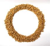 Runde Rahmen von pellets