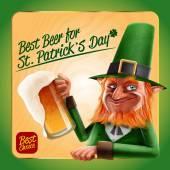 St. patricks Day und Bier