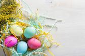 Színes húsvéti tojás