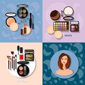 Profesionální make-up Make-up štětce