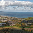 Постер, плакат: View on Bray and Bray Head from Little Sugar Loaf