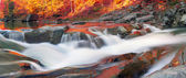 Waterfall Probiy on river Prut
