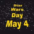 Постер, плакат: Star Wars Day