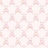 Růžový vzor s křivkou prvky