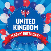 Všechno nejlepší k narozeninám, Velká Británie - šťastný den nezávislosti