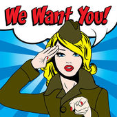Woman - WE WANT YOU!