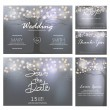 Постер, плакат: Wedding invitation cards