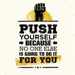 Постер, плакат: Creative Motivation Quote
