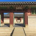 Постер, плакат: Korean traditional architecture building