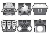 Šest kemp ikony