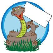A jele a kígyó