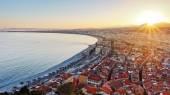 Monako pobřeží francouzské riviéry